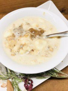 Salted Caramel Porridge mit Haferflocken