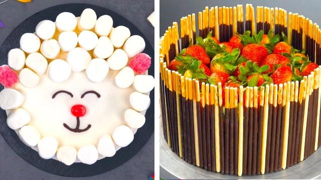 6x einfache Kuchen Deko | Kuchen dekorieren | Leckerschmecker