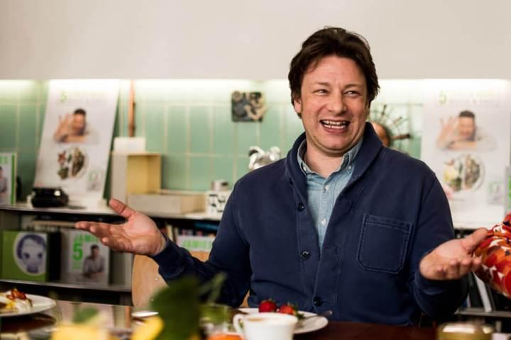 Jamie Oliver freut sich