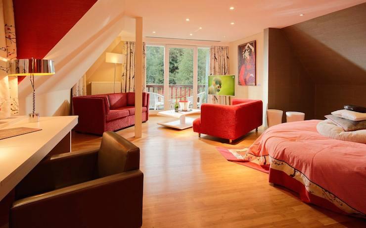 Suite Luxe Appartement  Htel Alsace proche dObernai  Ottrott Hotel spa  Restaurant