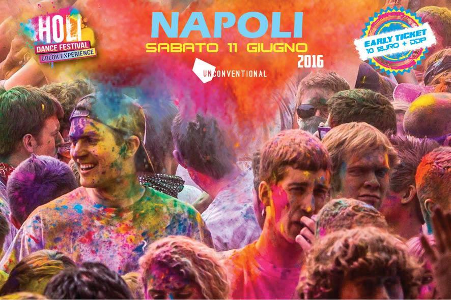 Holi Dance Festival Napoli
