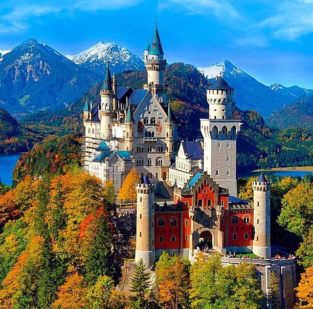 1. Germania, Il castello di Neuschwanstein