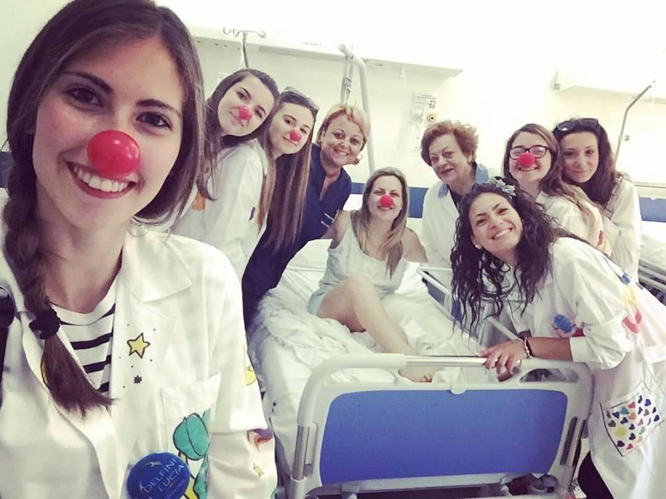 clown therapy i delfini di lucia