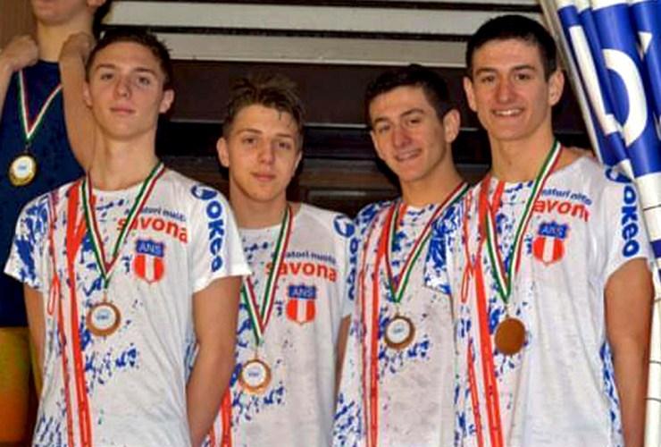 Lorenzo Maccagno, Francesco Costa Marco e Lorenzo Pugliaro