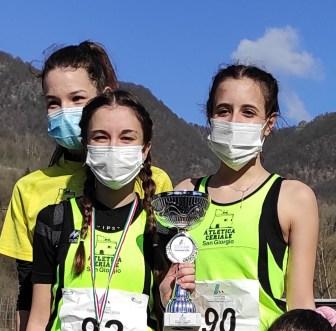 Elena Cusato ed Eleonora Boeri punti di forza della Atletca Ceriale San Giorgio