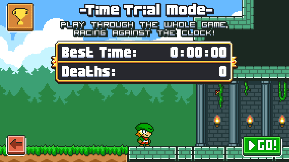 Time Trial Super Dangerous Dungeon