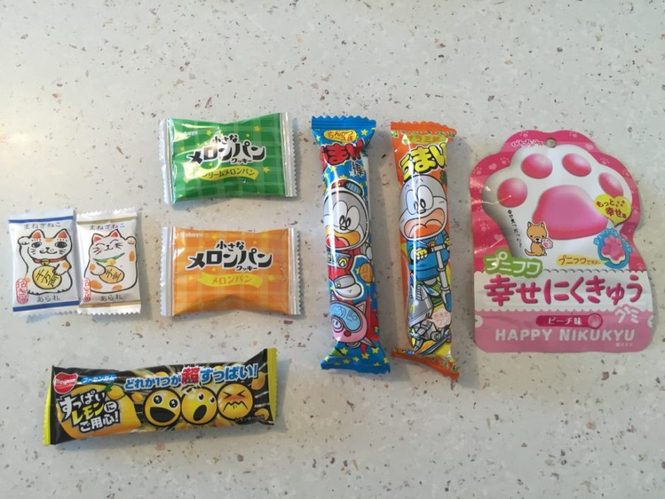 umaibox snacks bonbons