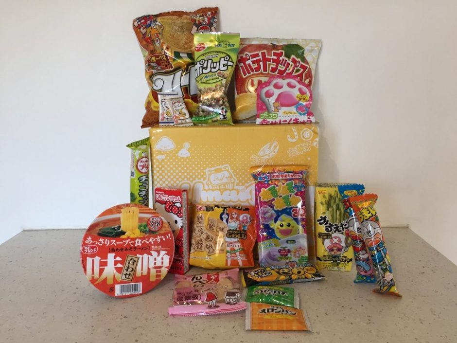 umaibox snacks japonais