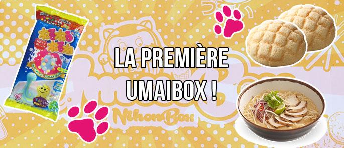 UNBOXING : Umaibox, la nouvelle box de nourriture Japonaise !