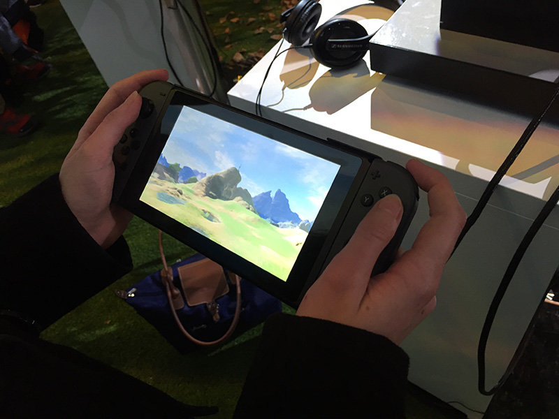 Switch tablette