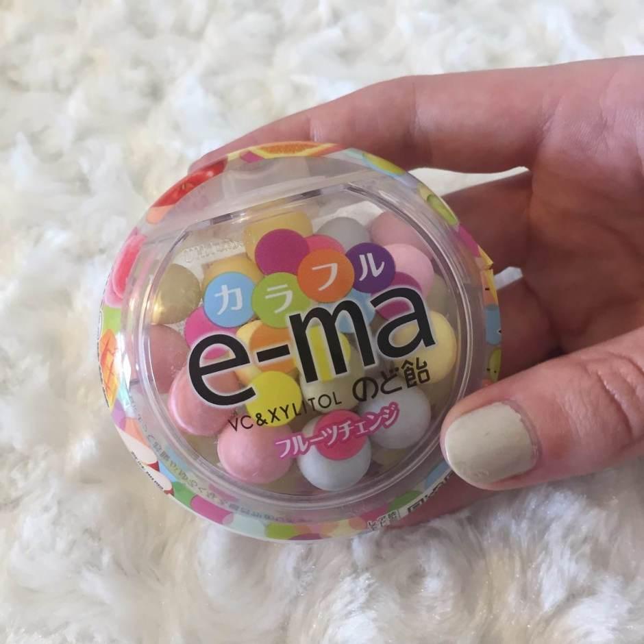 bonbons japonais e-ma