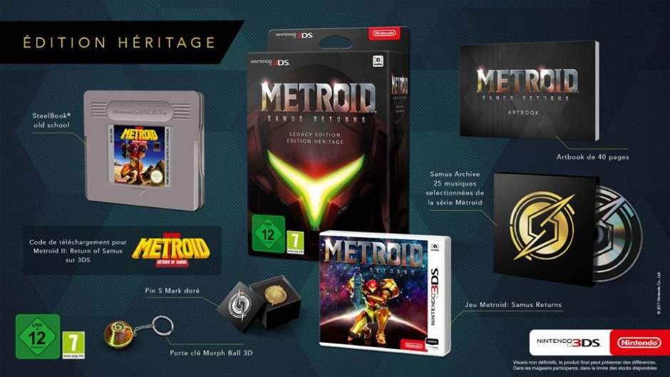 Metroid Samus Returns Collector