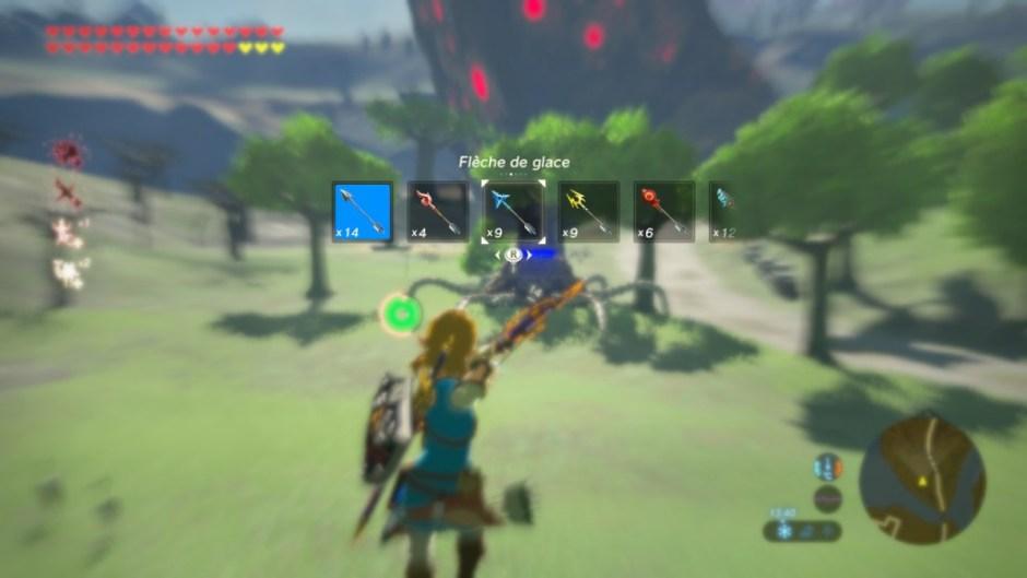UI Zelda Breath of the Wild
