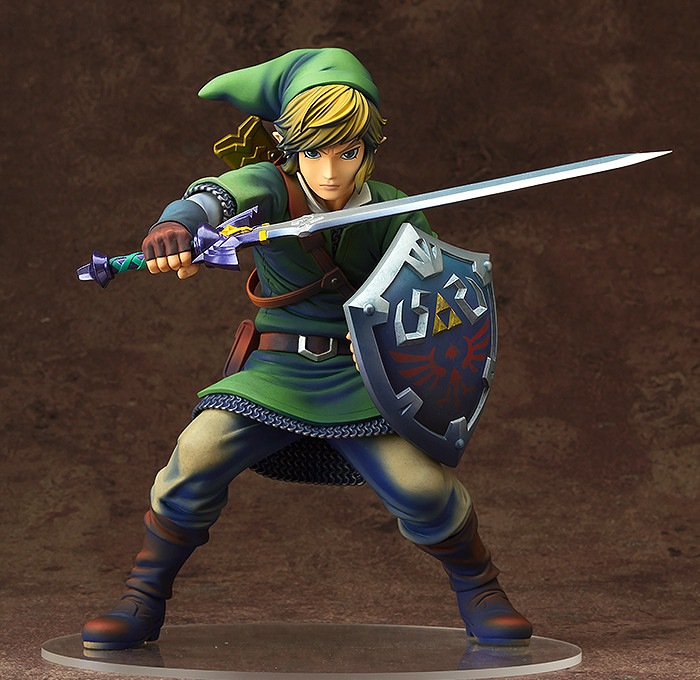 figurine link skyward sword good smile