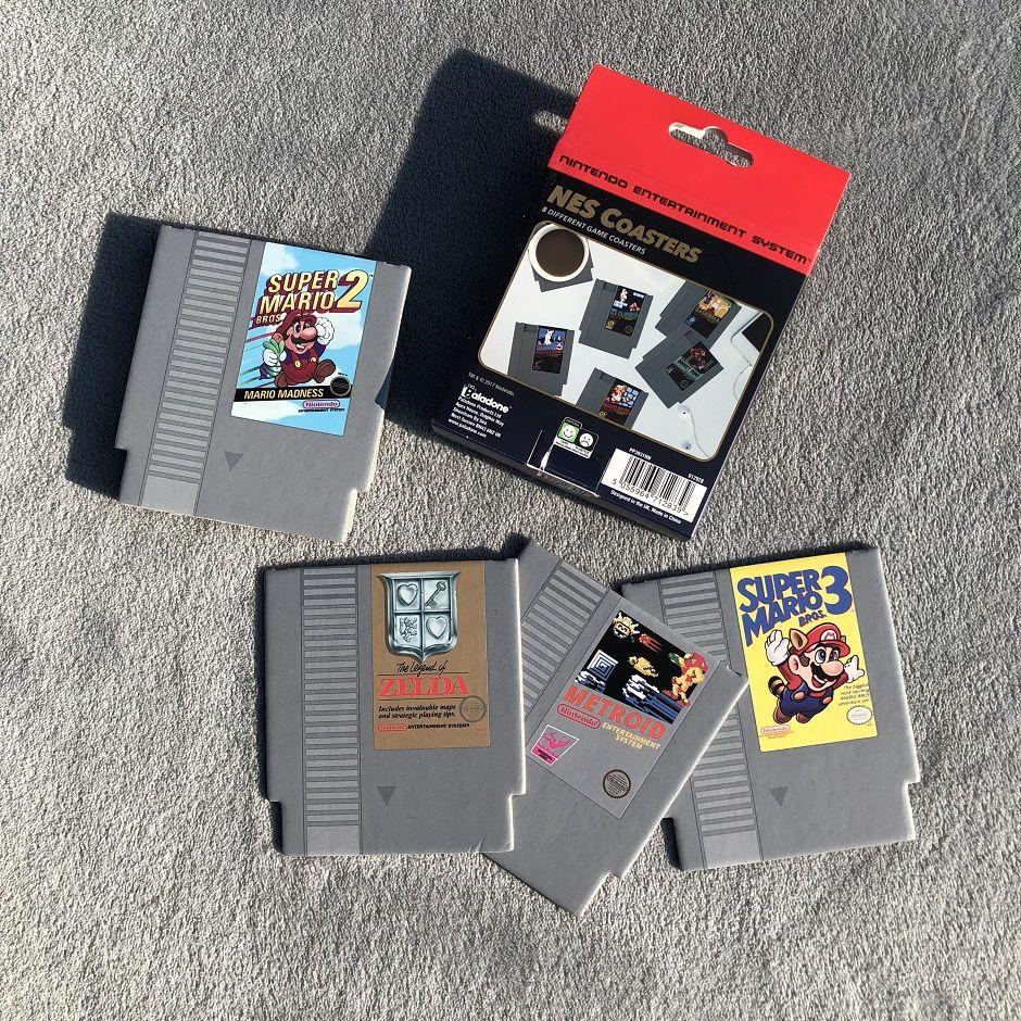 hitek box retrogaming dessous de verre NES