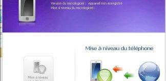 Samsung kies appareil non enregistré Galaxy Spica
