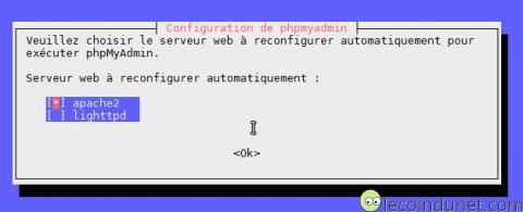 Debian - phpmyadmin