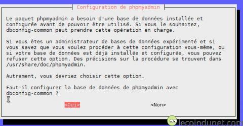 Debian - phpmyadmin_base_de_donnees