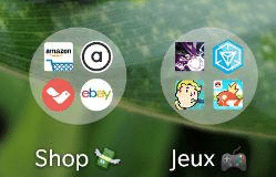 Dossier d'application sur Android