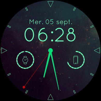 Ecran d'accueil - Android Wear