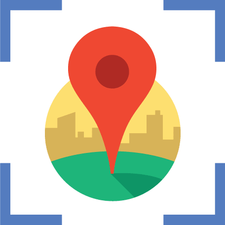 Google map embed places icon