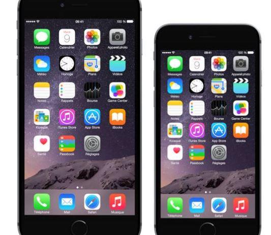iPhone 6 et iPhone 6 plus
