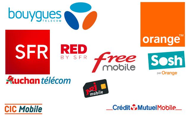 Logos opérateurs mobiles