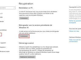 Windows 10 - Annuler et désinstaller mise à jour