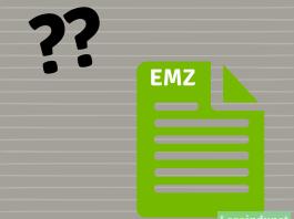 Fichier EMZ