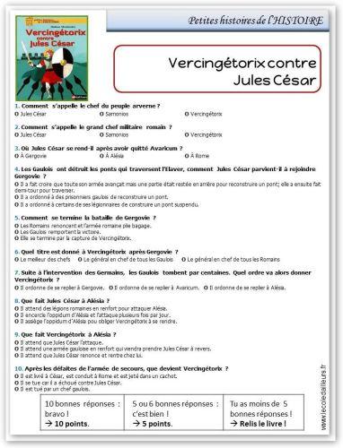 RL - Petites histoires de l'HISTOIRE - Vercingétorix contre Jules César
