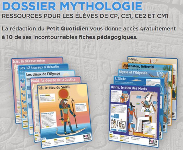 dossier mythologie