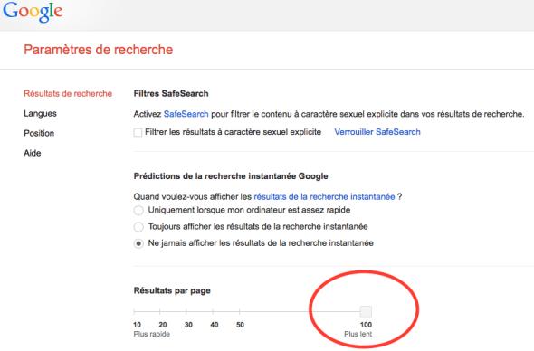 resultats profils linkedin viadeo google