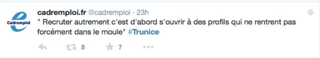 #TruNice live tweet