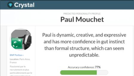 Crystal profil Paul Mouchet