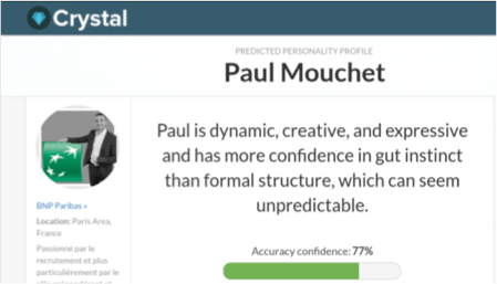 Crystal profil Paul Mouchet