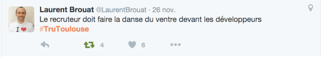 #TruToulouse 2015 recrutement