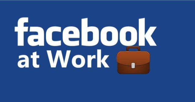 Facebook at work workplace