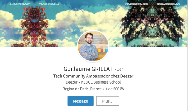 gerer creer une communaute tech ambassadeur deezer guillaume grillat