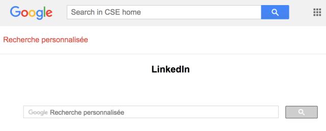Google CSE moteur de recherche personnalise