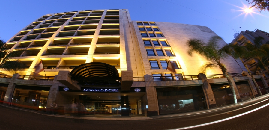 Le Commodore Hotel Hamra Beirut Lebanon  Online Reservations Deals Room Rates Dining and SPA
