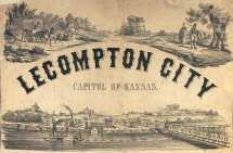 Historic Walking Tour Lecompton Kansas
