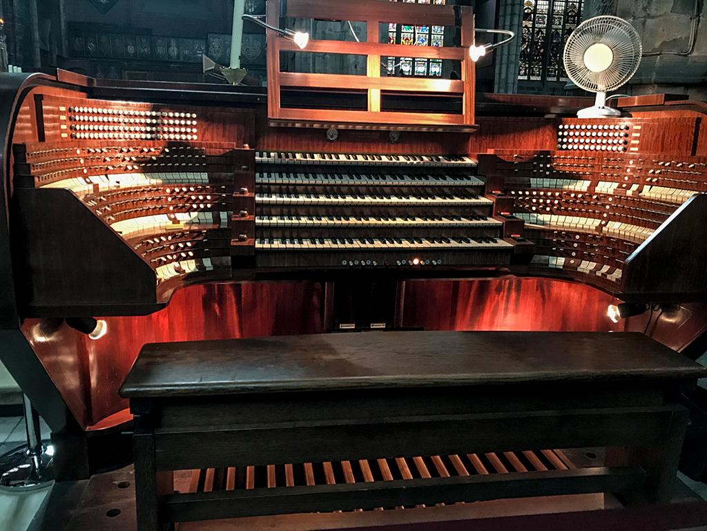 The organ at Gent