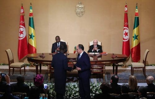 Accords coopération-Tunisie-Sénégal