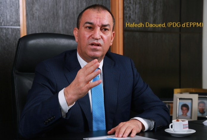 Hafedh Daoued, (PDG d'EPPM)
