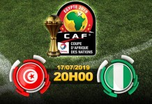CAN 2019 Tunisie - Nigéria