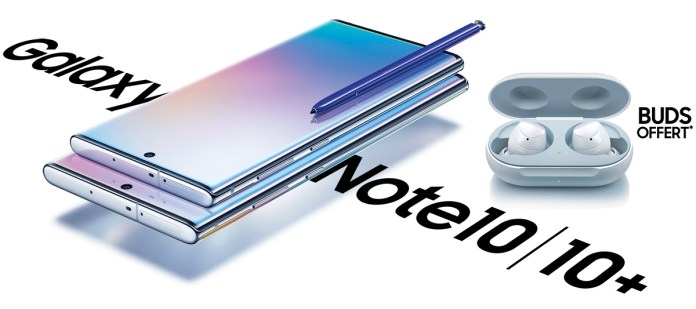 Galaxy Note 10 Tunisie
