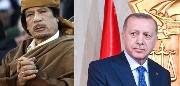Kaddafi vs Erdogan