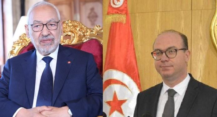 coalition gouvernementale Ghannouchi