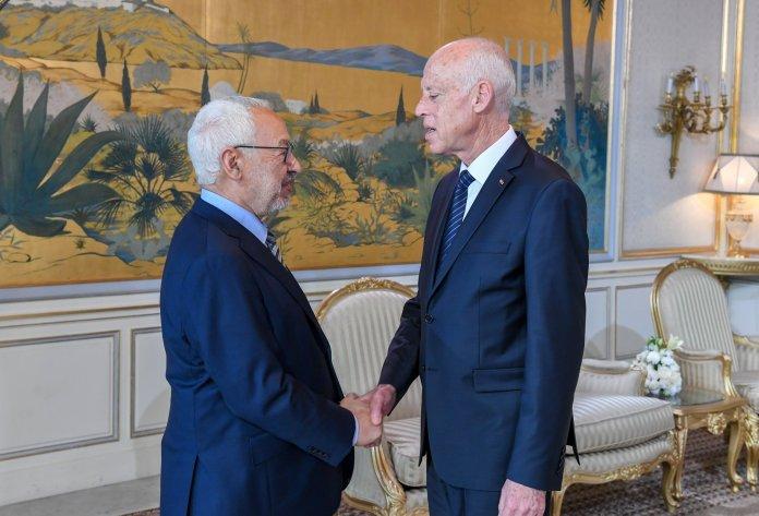 Rached Ghannouchi vs Kais Saied
