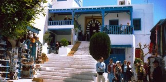Touristes Tunisie